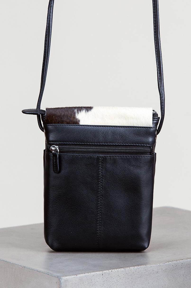 Odessa Small Cowhide Crossbody Bag