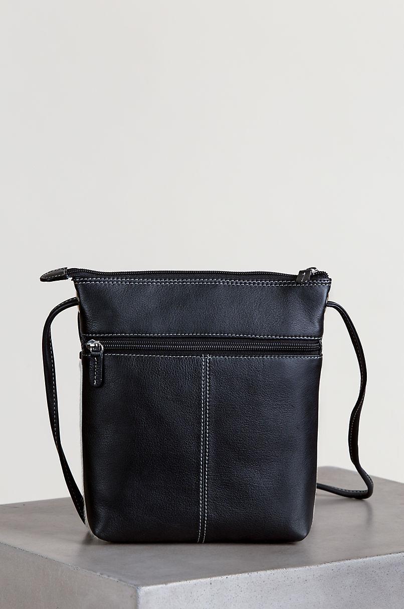 Odessa Cowhide Crossbody Bag