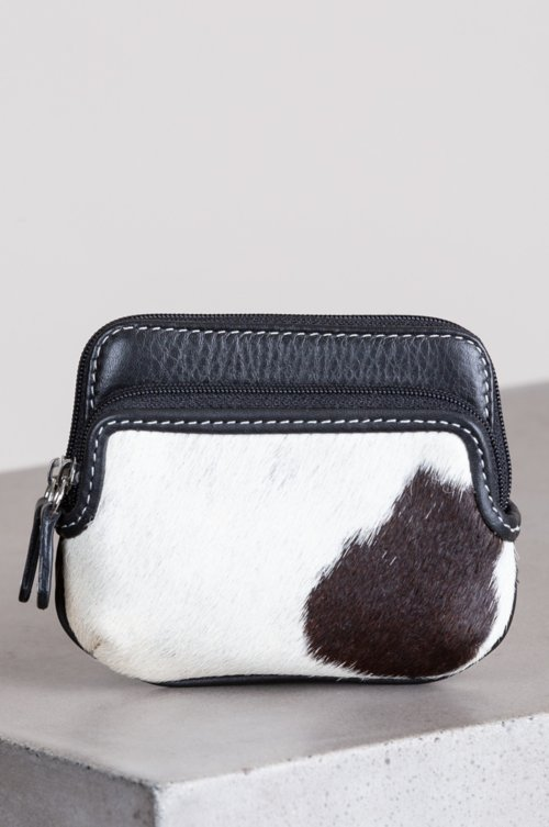 Odessa Cowhide Mini Coin Pouch Wallet