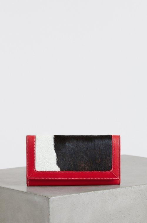 Odessa Cowhide Clutch Wallet