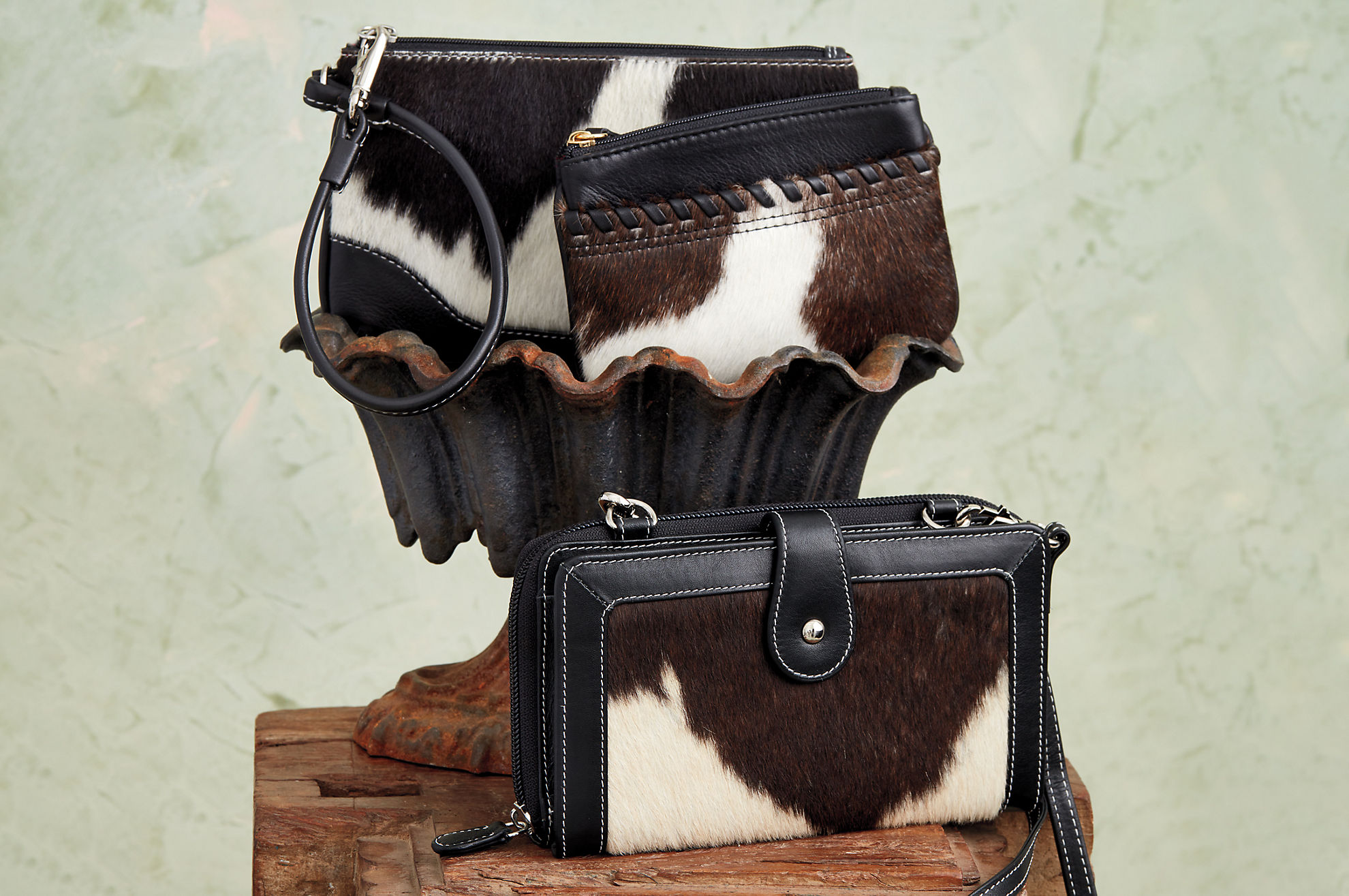 Odessa Cowhide Coin Pouch Wallet