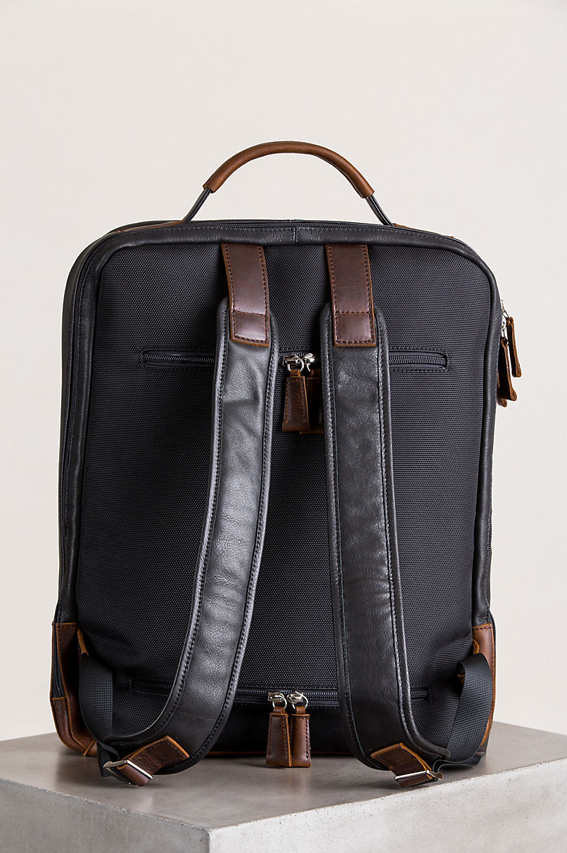 Princeton Argentine Leather Backpack