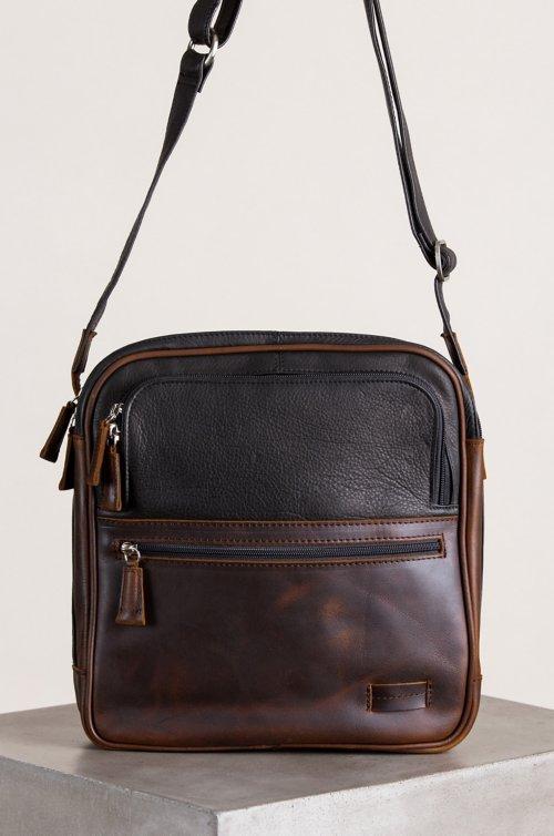 Princeton Argentine Leather Crossbody Traveler Bag