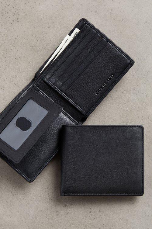Argentine Leather Billfold Wallet with Removable Passcase