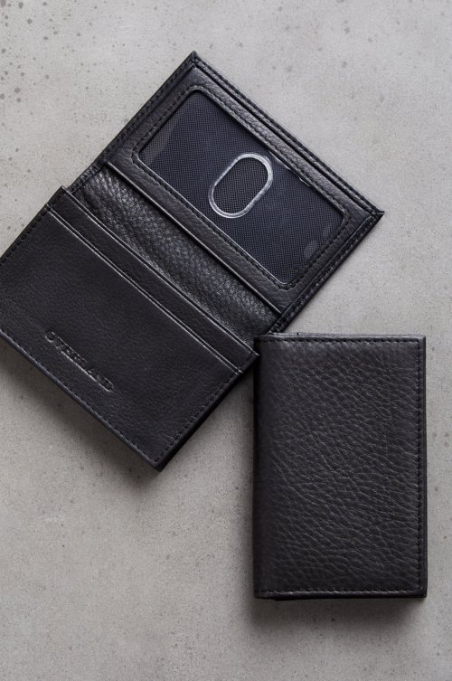 Gusseted Leather Card Case