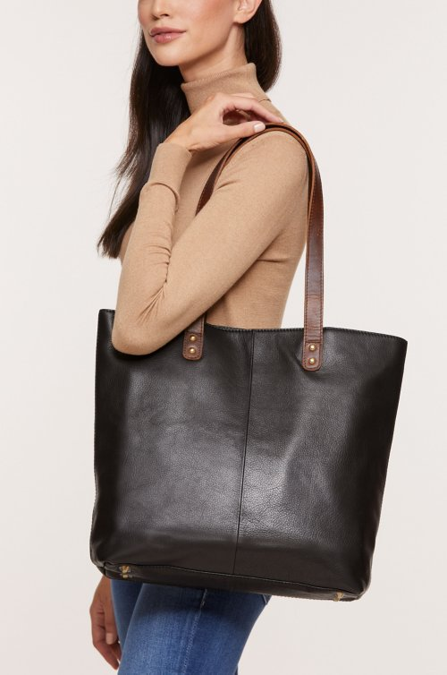 Roma Argentine Leather Tote Bag