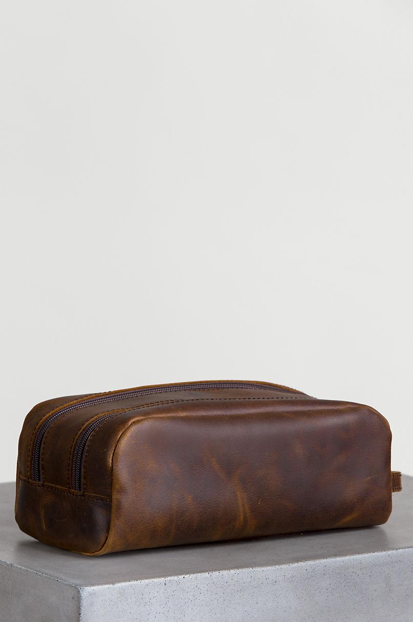 Princeton Argentine Leather Travel Kit