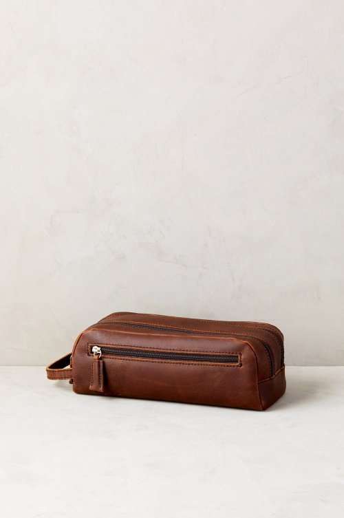 Princeton Argentine Leather Travel Kit