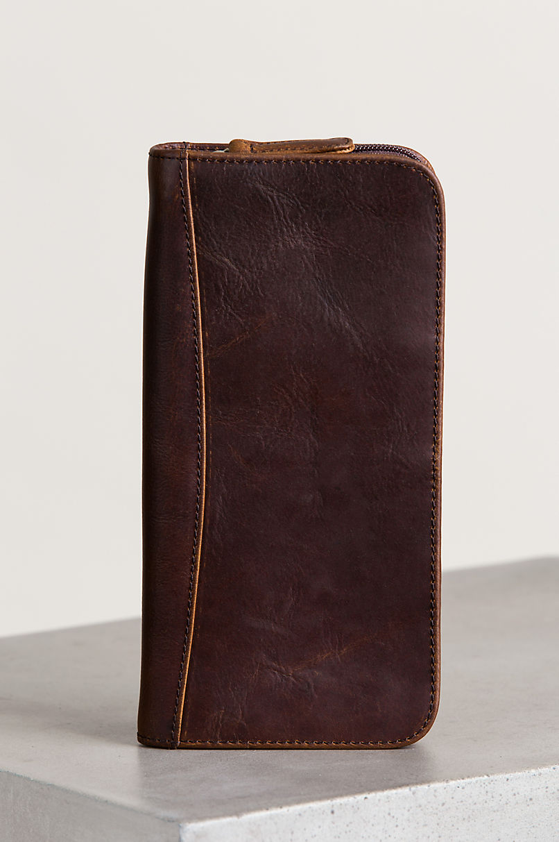 Argentine Leather Passport Wallet