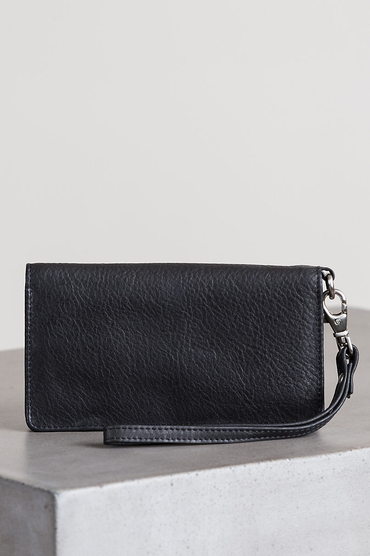 Argentine Leather Phone Wristlet Clutch Wallet
