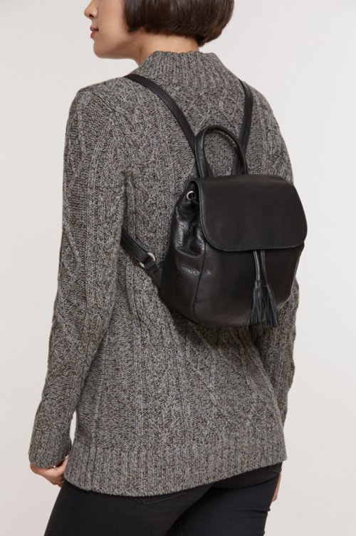 Venice Argentine Leather Backpack Purse