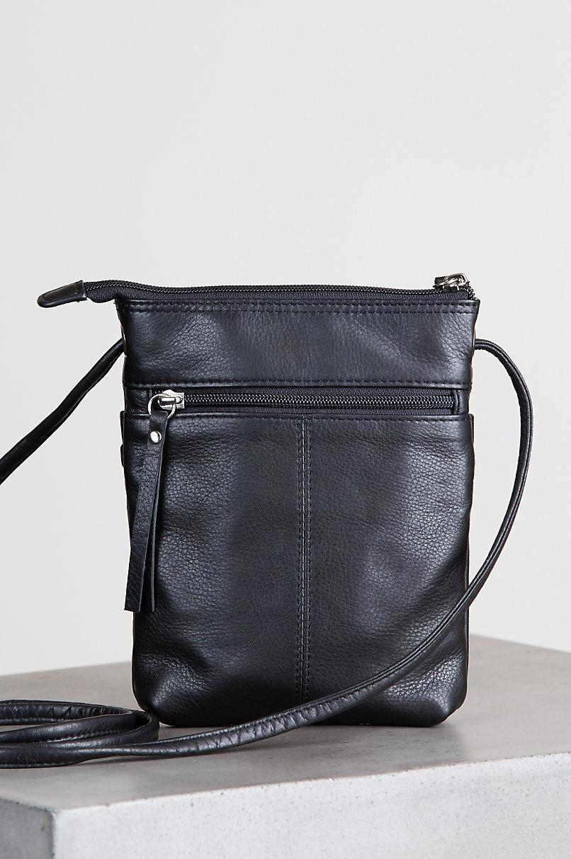 Venice Small Argentine Leather Crossbody Bag