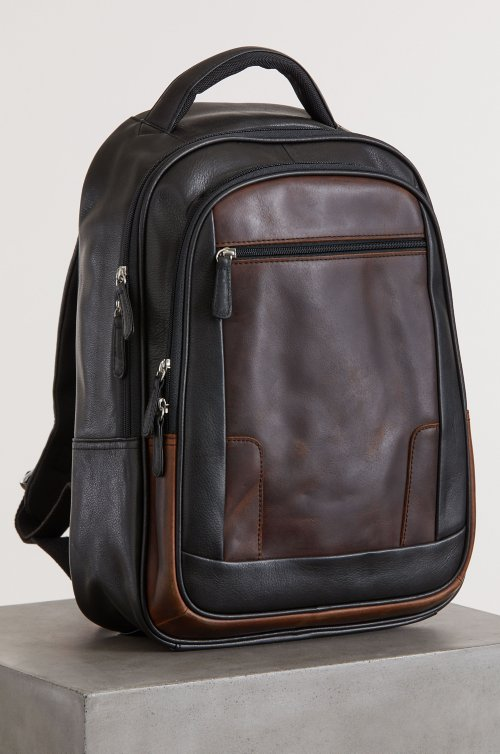 Princeton Slim Argentine Leather Backpack