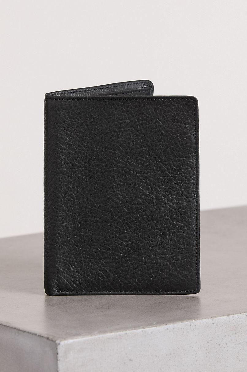 Argentine Leather Passport Billfold Wallet