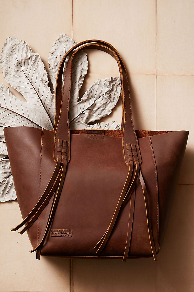 Tahoe Distressed Leather Tote Bag