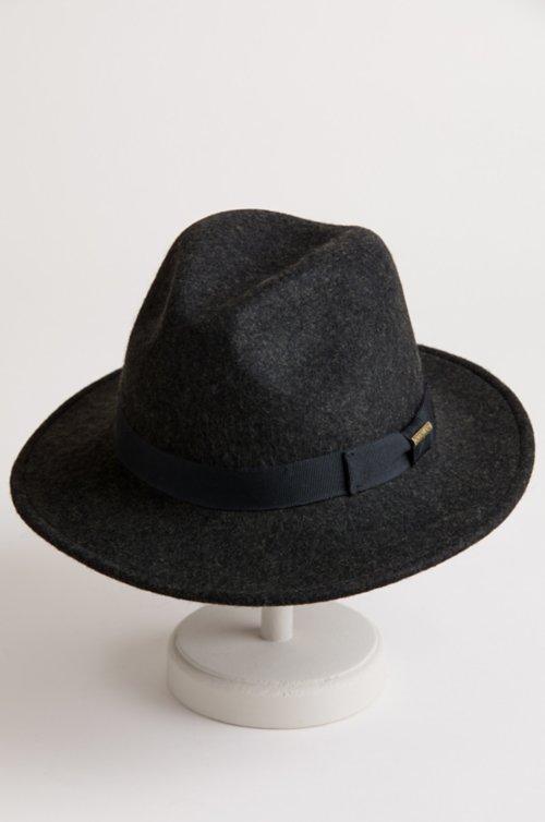 Plymouth Crushable Wool Felt Fedora Hat