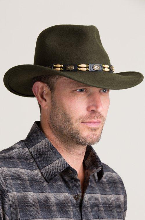 Outback Crushable Wool Felt Cowboy Hat