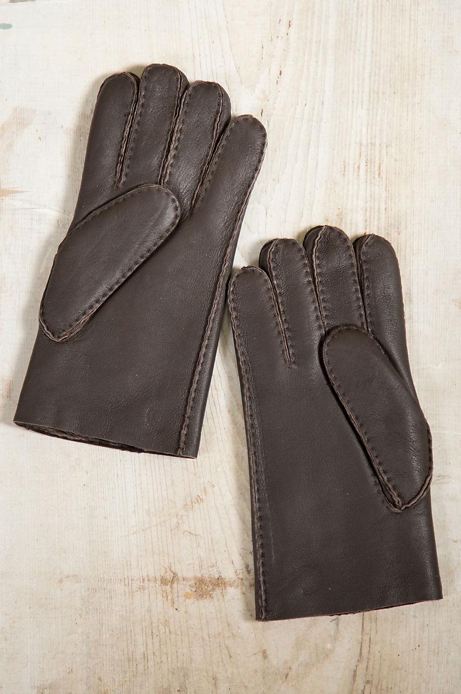 Men's Pine Spanish Sheepskin Gloves