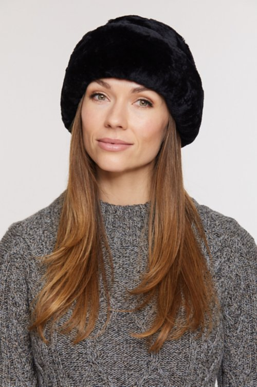 Australian Mouton Shearling Cossack Hat
