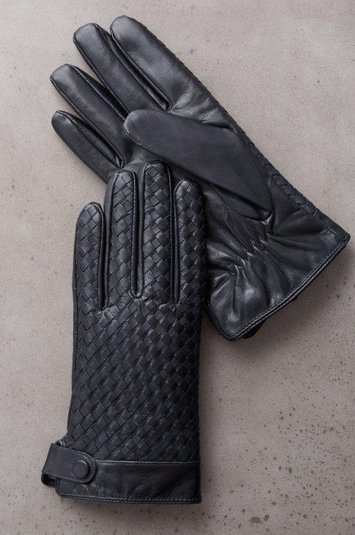 Men's Cypress Cashmere-Lined Lambskin Gloves