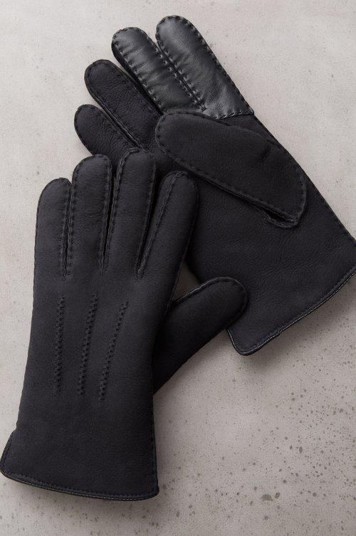Men's Thuja Spanish Sheepskin Gloves with Touchscreen Leather