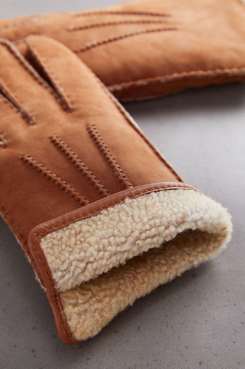 Men's Madrone Merino Sheepskin Gloves