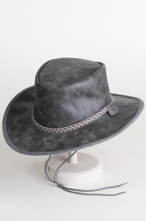 Rancher Crushable Oiled-Leather Cowboy Hat