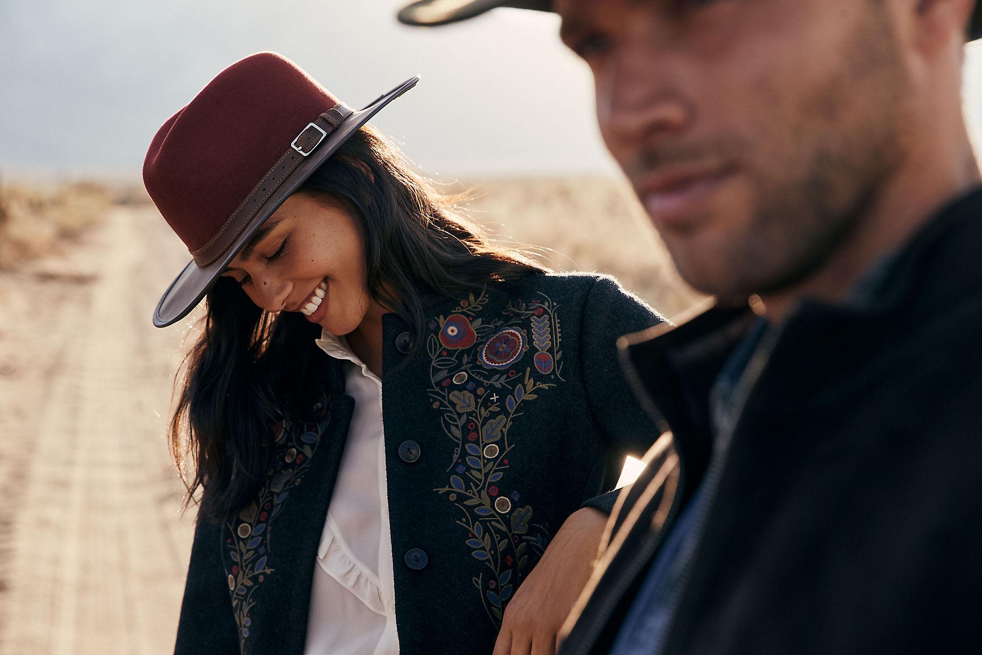 Pinnacle Wool Felt and Leather Safari Hat