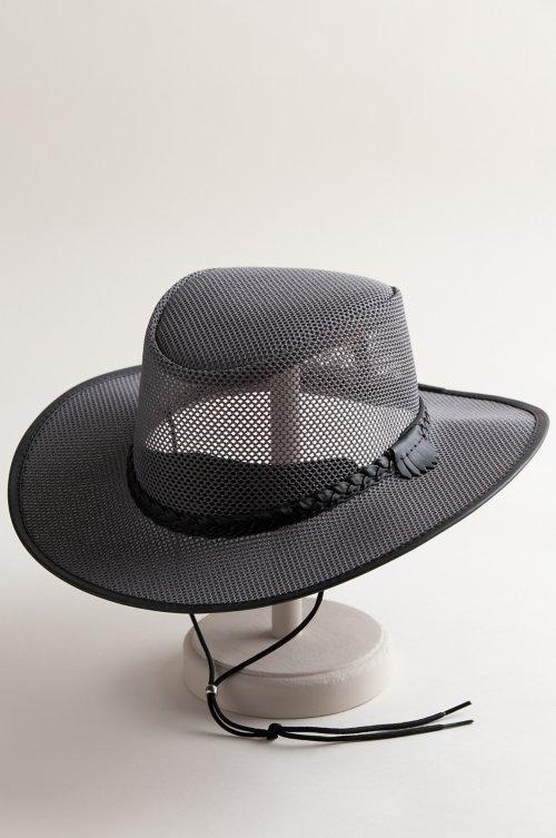 Soaker Crushable Mesh Breezer Western Hat