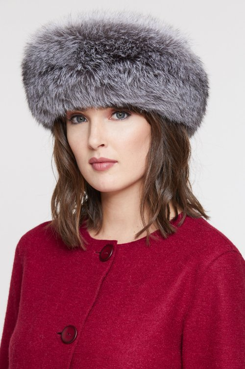 Finnish Fox Fur Convertible Headband and Fur Collar