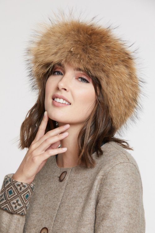 Fur Convertible Headband and Fur Collar