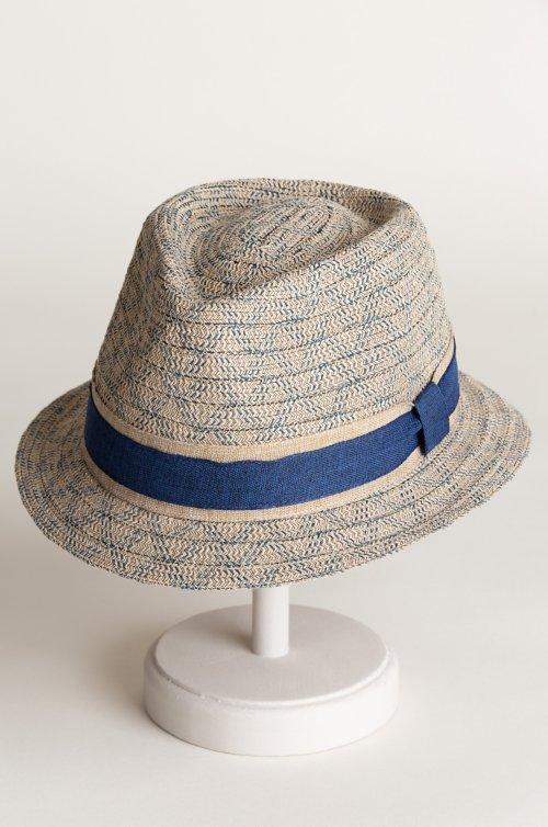 Coba Cotton-Blend Braid Fedora Hat
