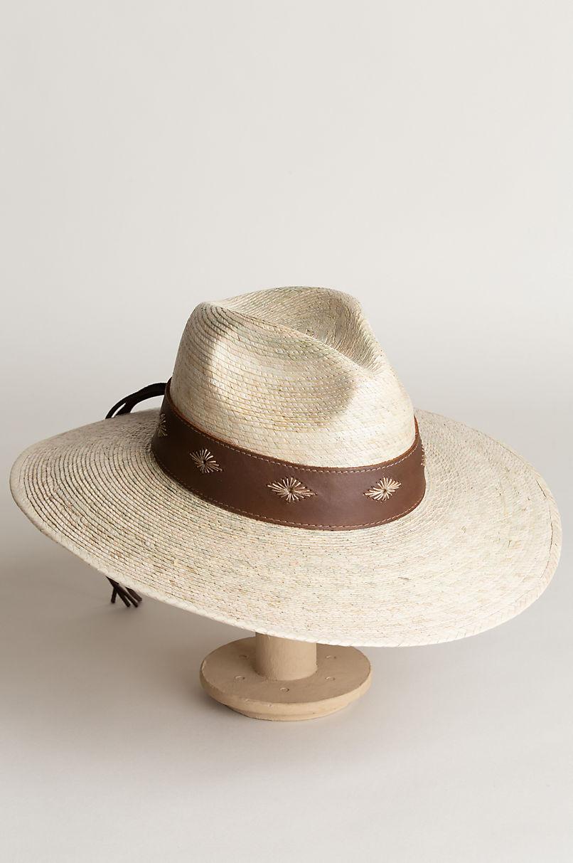 Bianca Palm Fiber Safari Hat