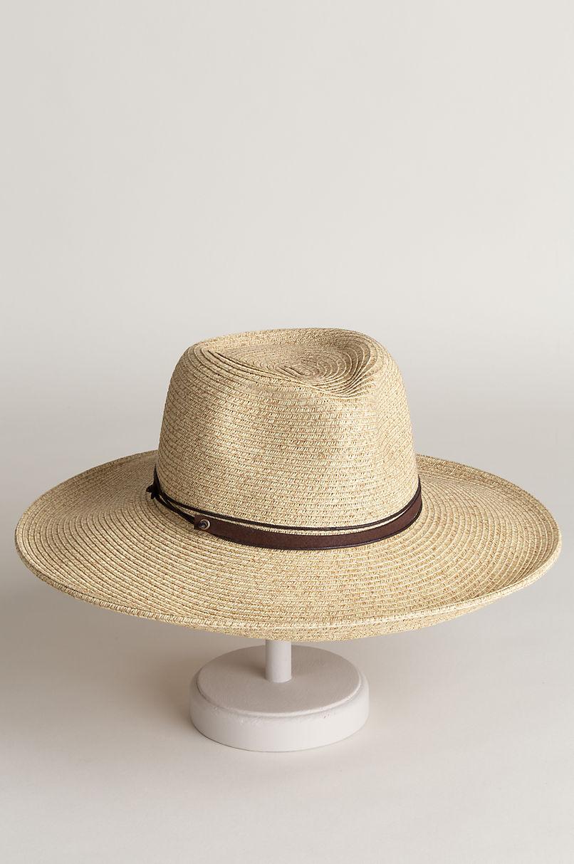 Astoria Paper Braid-Blend Upturn Outback Hat