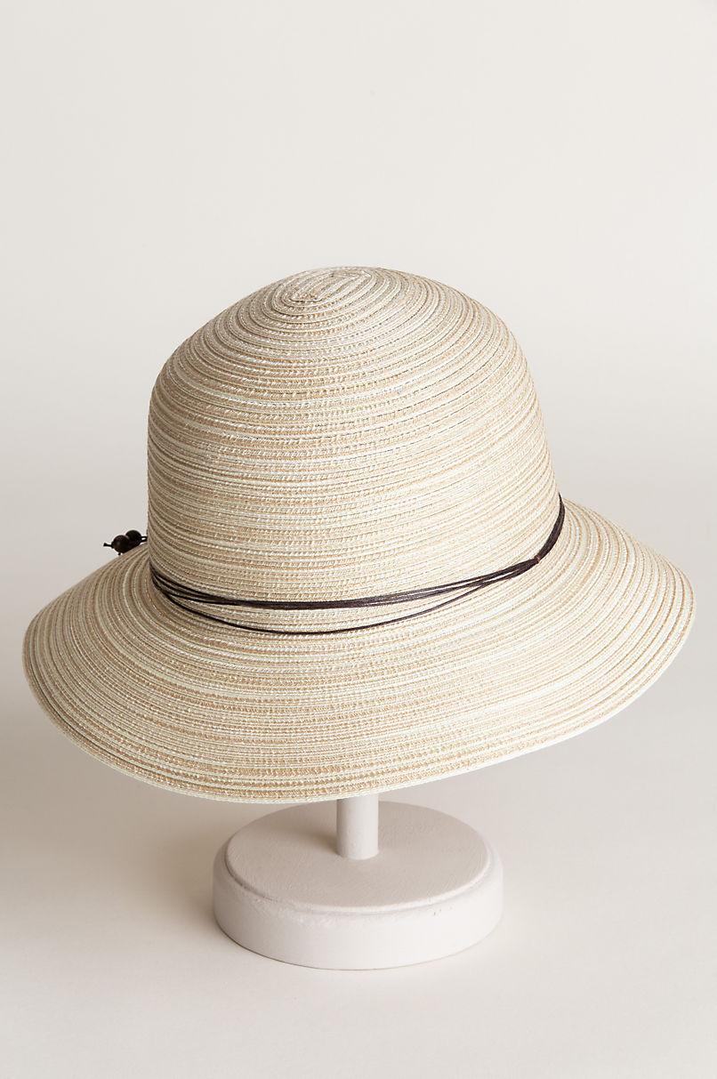 Sara Poly Braid Cloche Hat