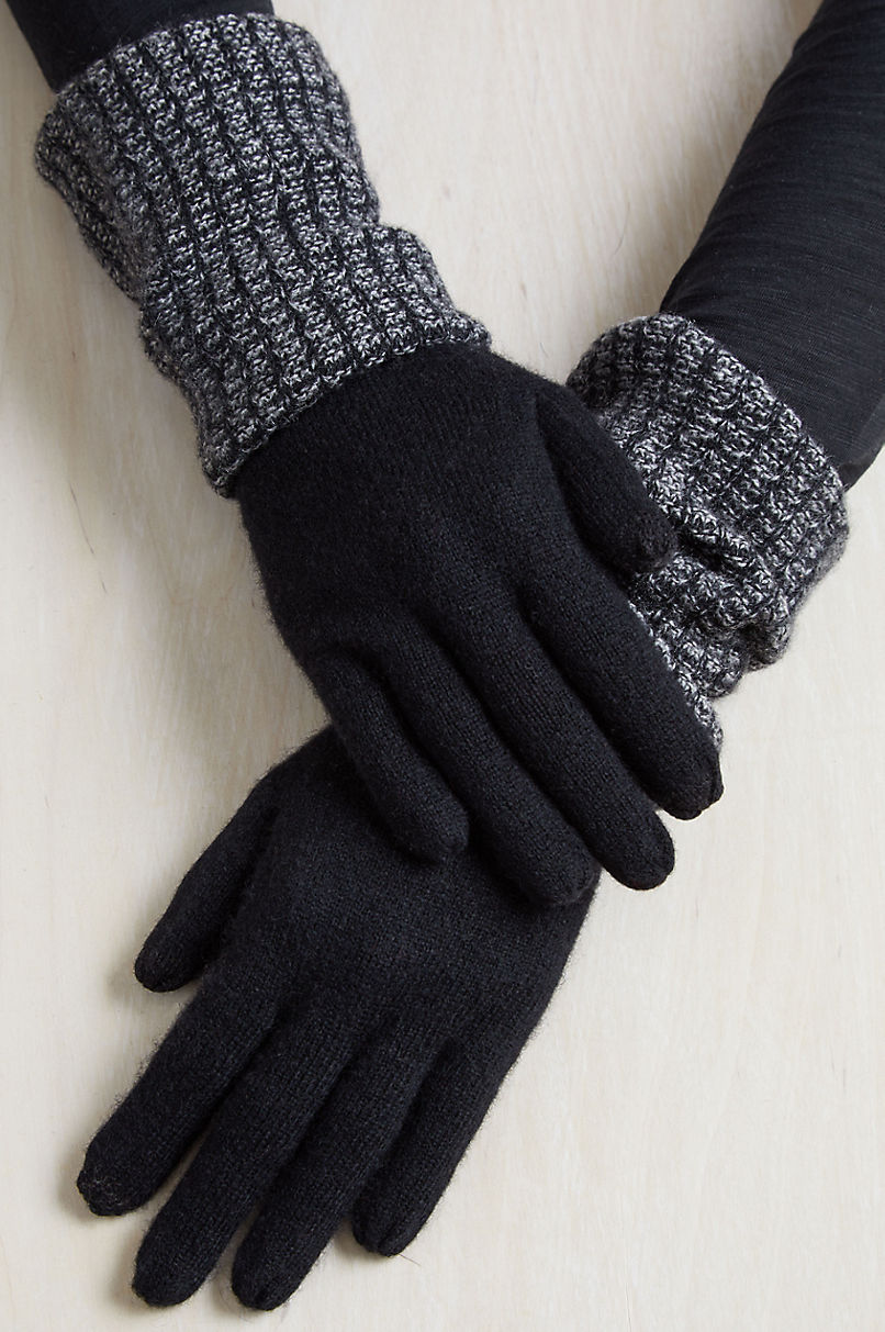 Women's Hawthorn Long Cashmere Convertible Gloves
