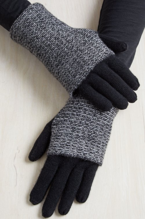 Women's Hawthorn Waffle Knit Cashmere Convertible Gloves