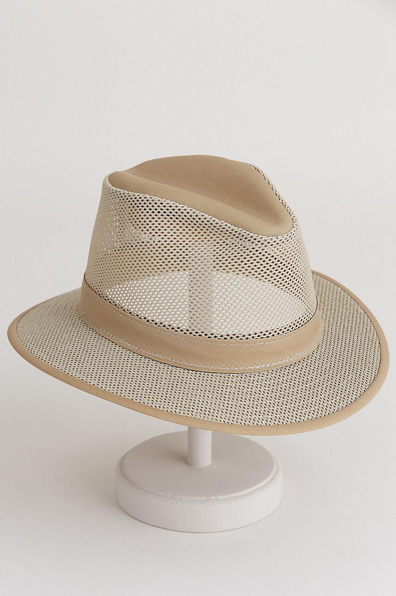 Bayou Crushable Safari Breezer Hat