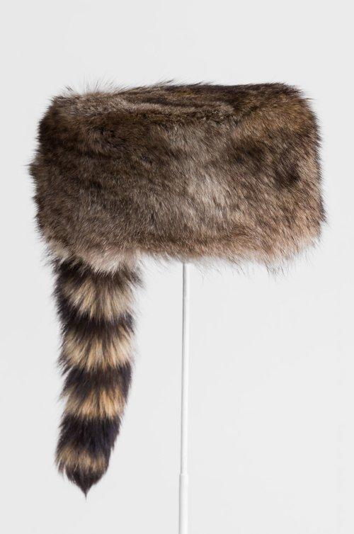 Davey Crocket Raccoon Fur Cossack Hat