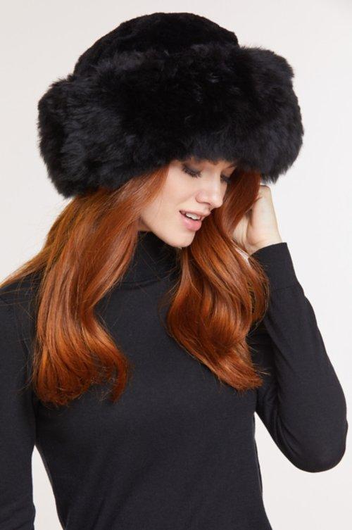 Premium Peruvian Baby Alpaca Fur Cossack Hat