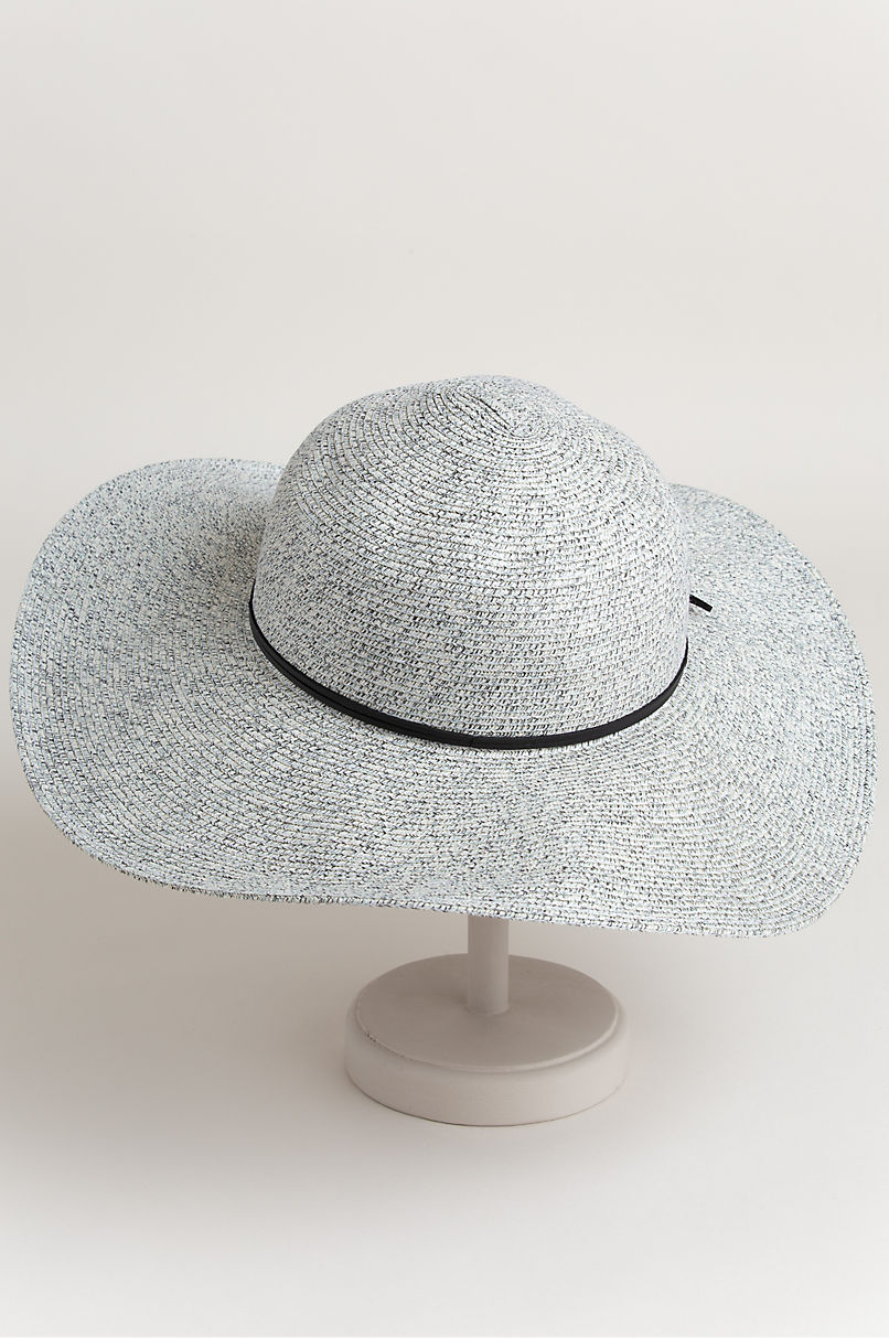 Bailey Packable Straw-Blend Wide Brim Floppy Hat