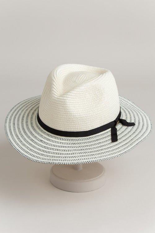 Tamalina Straw Fedora Hat
