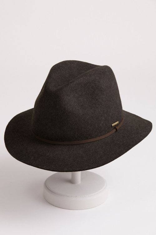 Edward Crushable Wool Felt Safari Hat