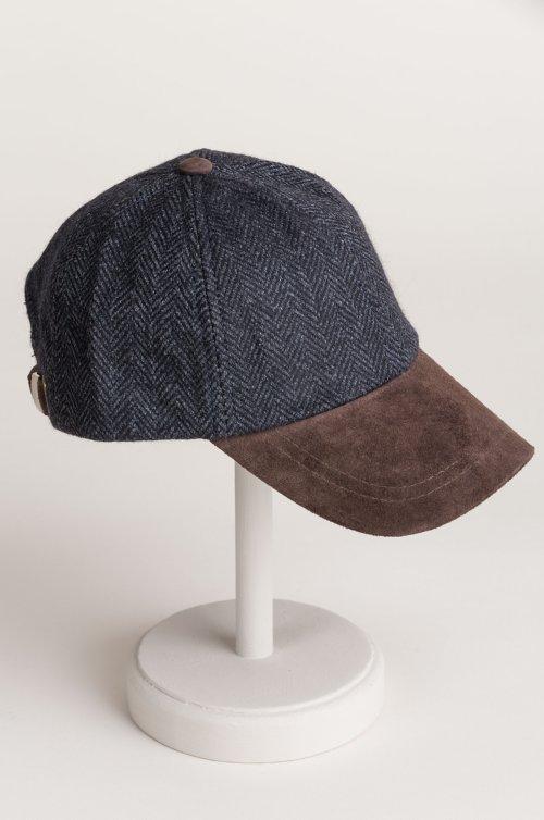 York Wool and Suede Baseball Cap