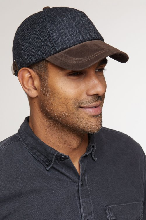 York Wool and Suede Baseball Cap
