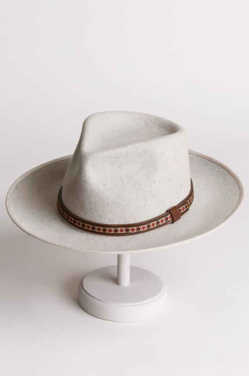 Alpes Wool Felt Fedora Hat