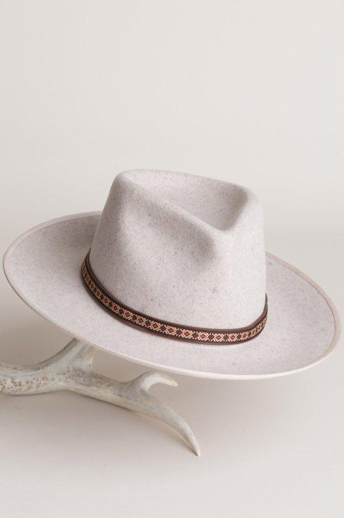 Alpes Wool Felt Fedora Hat