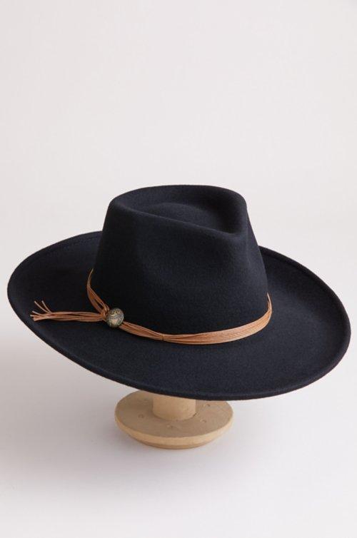 Sicily Crushable Wool Felt Outback Hat