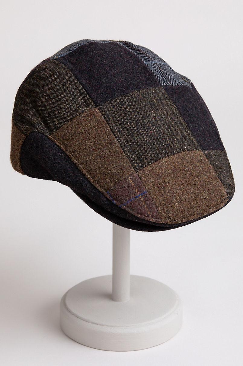 Stetson Patchwork Wool-Blend Ivy Cap
