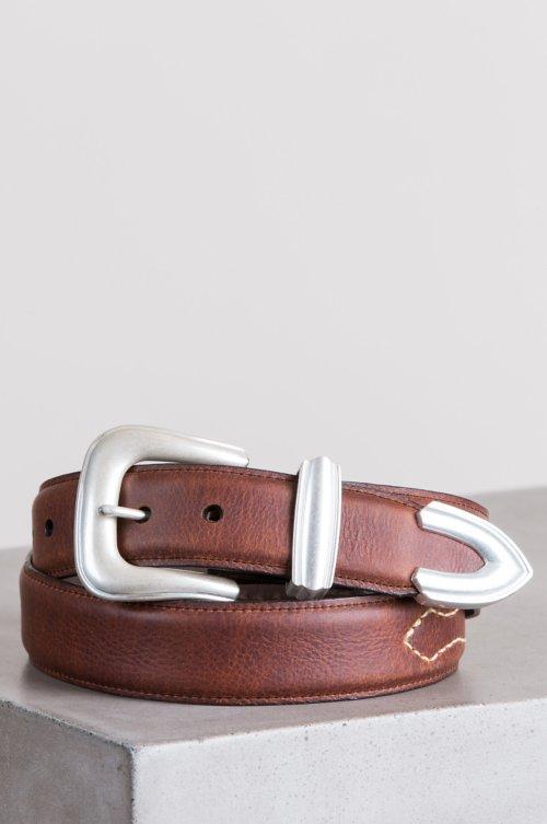 Dalton Bison Leather Belt